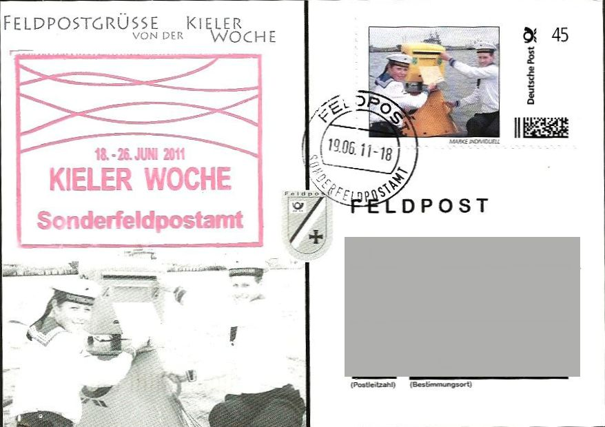Private Postkarte